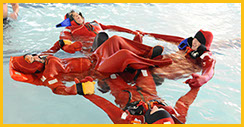 STCW Basic Safety Training - Immersion Suits