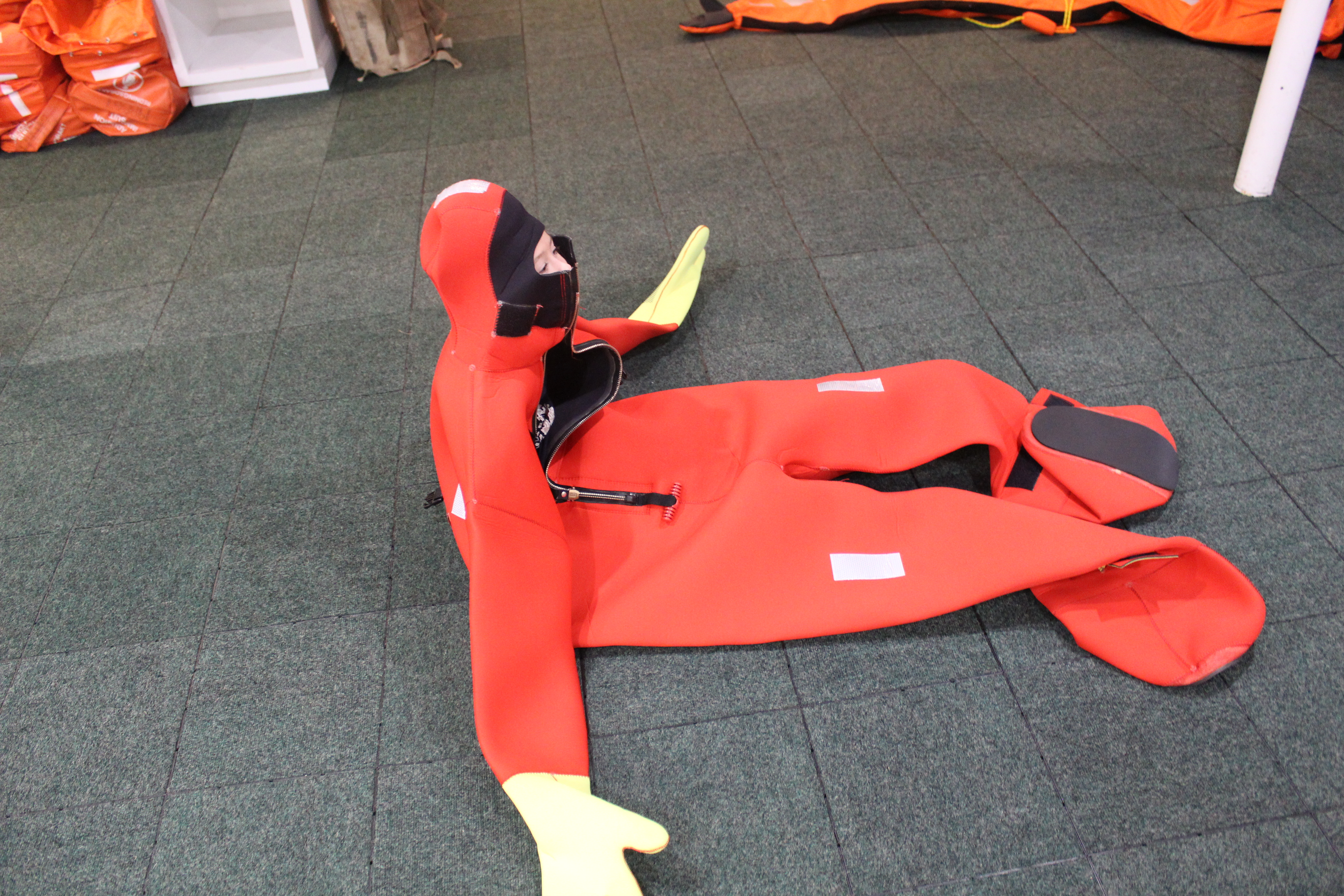 Nautical Safety Gear Shipping Industry Insulated