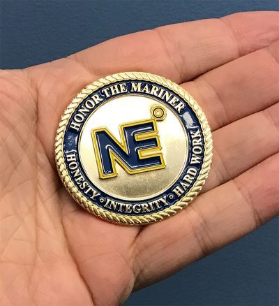 It all begins at NMI, Challenge Coins