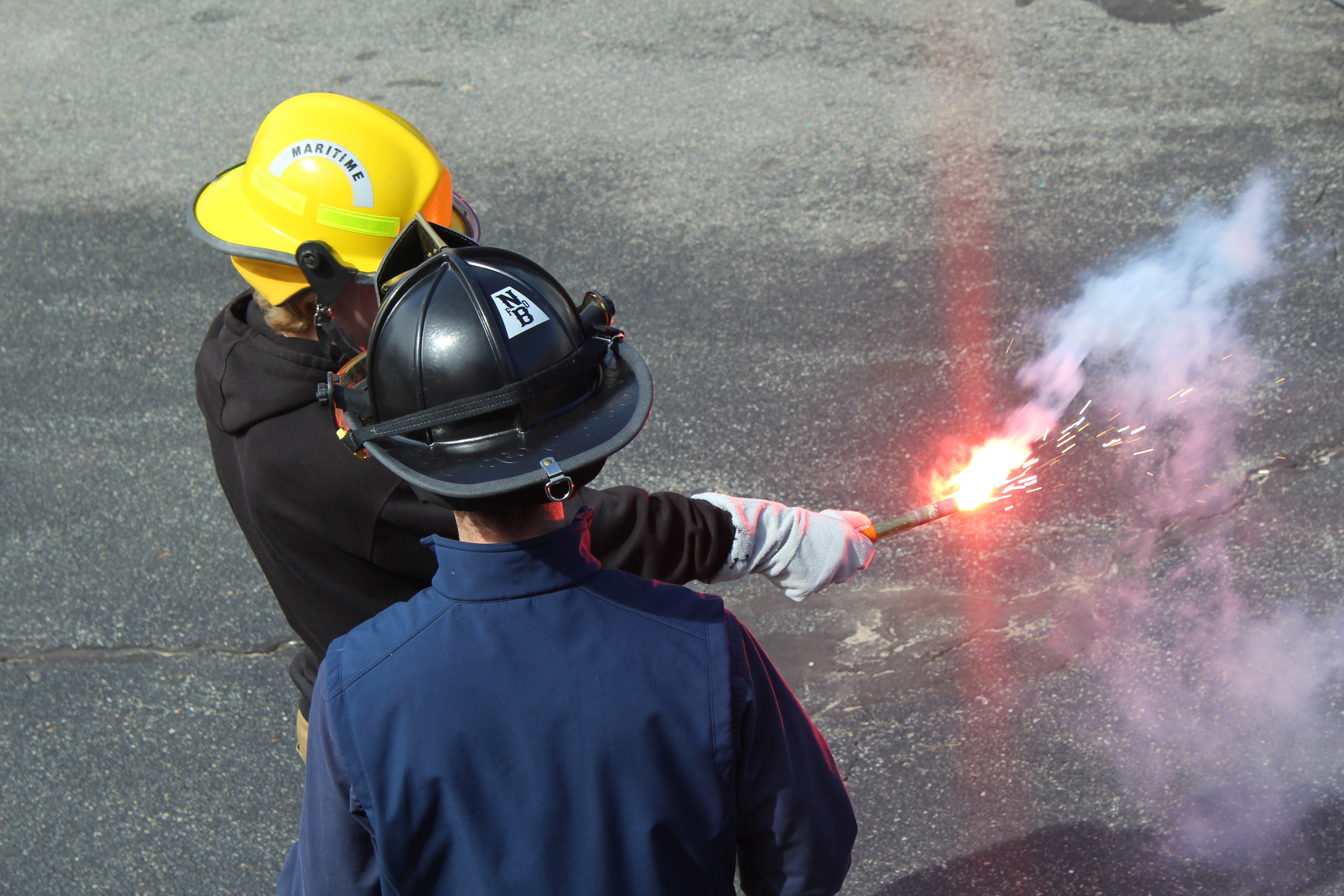 Advanced Firefighting STCW Flare Continuing Education