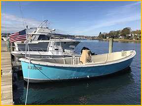 Kehoe Launch at Marina at Slocum Cove
