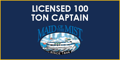 licensed 100 ton captain rectangle