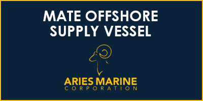 mate offshore supply vessel rectangle