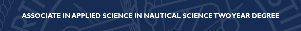 Associate in Applied Science in Nautical Science Two Year Degree Program