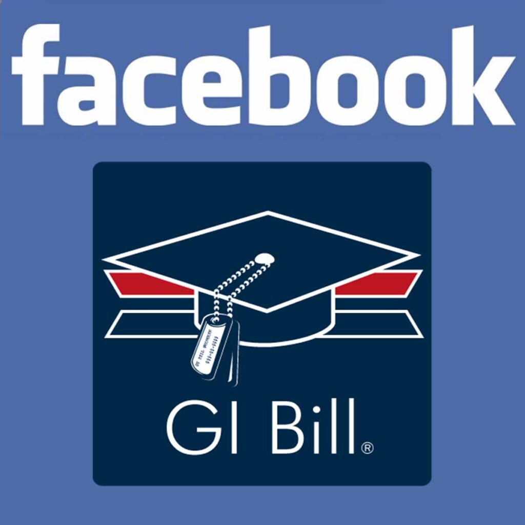 Facebook, GI Bill
