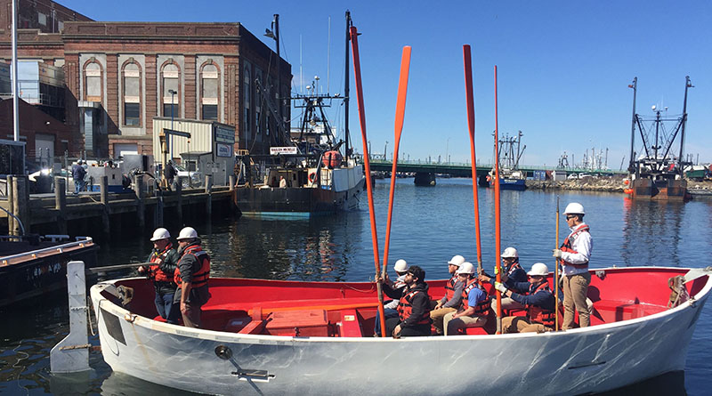 Lifeboatman, practical, hands-on learning